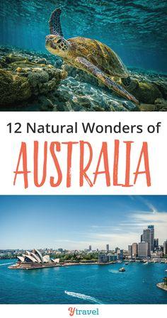 Explore these 12 Natural Wonders of Australia.