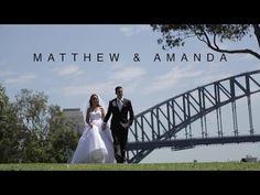 Matthew & Amanda // Wedding Highlight Video // L'Aqua / Darling Harbour - YouTube