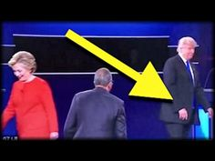 Ole Lester expected Mr Trump to run over and shake his hand!?! Judas had already been bought and paid for... so what's new w a clinton? Mr Trump eventually did shake Lester's hand, but he made him squirm a bit...