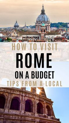 What to do and what not to do when planning a trip to Rome on a budget. - What to do and what not to do when planning a trip to Rome on a budget. What to do and what not to do when planning a trip to Rome on a bu. Italy Travel Tips, Rome Travel, Travel Abroad, Budget Travel, Travel Usa, Europe Budget, Travel Destinations, Travel Hacks, Travel Europe