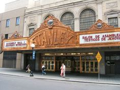 Stanley Theatre New Jersey.I had the privilege of visiting this beautiful  theatre in the 80's.