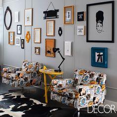 Apartamento destaca cores e ambientes cheios de personalidade em São Paulo. Veja mais: