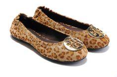 Tory Burch Ballerina Flats leopard skin color I