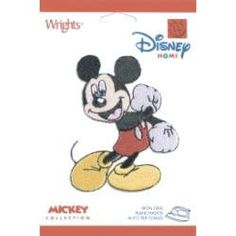 Mickey Mouse Disney Iron on Applique by GabbysQuiltsNSupply, $2.79