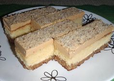 Fashion and Lifestyle Czech Desserts, Sweet Desserts, Just Desserts, Sweet Recipes, Dessert Recipes, Czech Recipes, Mini Cheesecakes, No Bake Cake, Vanilla Cake