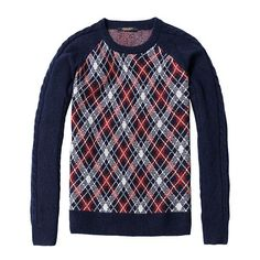 SIMWOOD 2016 new autumn plaid winter sweater men fashion pullovers 65.2% wool warm knitted casual brand clothing MY363