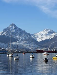 Ushuaia, Argentina or the end of the world . my grandma always said it was the most beautiful place on earth for her. Ushuaia, End Of The World, Wonders Of The World, Central America, South America, Adventure Travel, Cool Photos, Places To Go, Beautiful Places