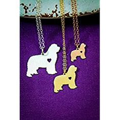 Newfoundland Dog Necklace - Newfie - IBD - Personalize with Name or Date - Choose Chain Length - Pendant Size Options - Sterling Silver Rose Gold Filled Charm - Ships in 2 Business Days Dog Necklace, Personalized Necklace, Newfoundland, Your Dog, Jewlery, Ships, Snoopy, Rose Gold, Charmed