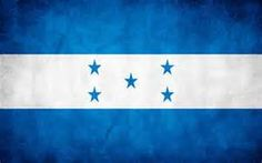 Honduras's flag was based on the flag of the Federal Republic of Central America.  The five stars form an X on the flag, representing the five nations of the former Federal Republic of Central America and the hope that they might once more join together in that union.  The two blue bands represent the Pacific Ocean and the Caribbean Sea, and the white the land between the oceans that comprises the country.