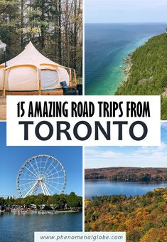 Looking for the best road trips from Toronto? Read about 15 great day trips and weekend getaways from Toronto by car (including map and driving distances). #Toronto #Ontario #Canada #RoadTrip Canada Travel, Us Travel, Weekend Getaways, Road Trips, Visit Toronto, Ontario Travel, Perfect Road Trip, Road Trip Destinations, Visit Canada