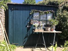 Styled by Selina Lake, Garden Style, shed colours
