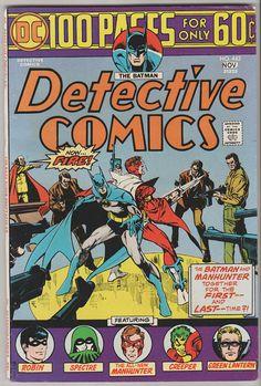 Detective Comics Vol 1 443. VF Nov 1974.  DC by RubbersuitStudios #batman #steveditko #jerryseigel
