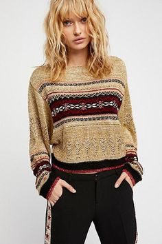 Free People Ski Lake Sweater
