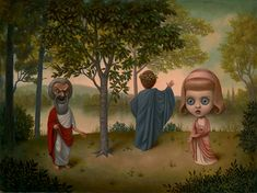 Marion Peck - Paintings - 2012 - 2014 - Elemental Spirit