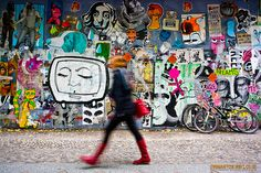 Cut and Paste Graffiti Berlin Style by toomanycolours.co.uk, via Flickr