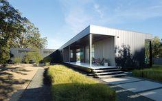 fertighaus von Marmol Radziner landschaft