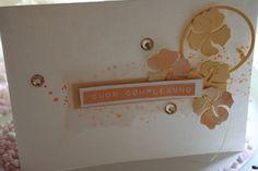 Geburtstagskarte mit Hibiskusblumen #Renke# #Geburtstag# #Hibiskus #Altenew# #compleanno#