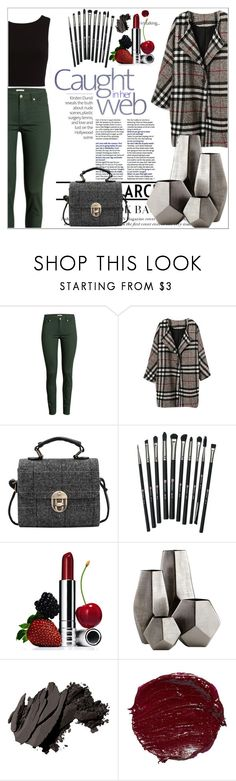 """""""Caught In Her Web"""" by l4lifel ❤ liked on Polyvore featuring H&M, Revolution, Clinique, Cyan Design and Bobbi Brown Cosmetics"""