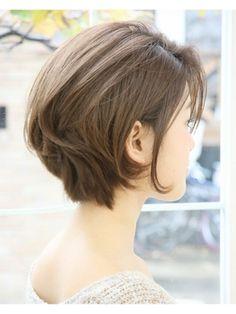 前下がりショート!!大人ボブ【RAGUEL表参道】 - 24時間いつでもWEB予約OK!ヘアスタイル10万点以上掲載!お気に入りの髪型、人気のヘアスタイルを探すならKirei Style[キレイスタイル]で。
