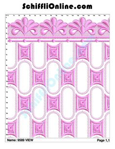 Buy Schiffli Embroidery Bundle,Book 103 - ALLOVER 8/4 Online at Best Price | SchiffliOnline.com Data Sheets, Embroidery Designs, Quilts, Blanket, Books, Stuff To Buy, Libros, Bruges Lace, Quilt Sets