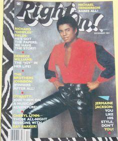 Jet Magazine, Black Magazine, Old Magazines, Vintage Magazines, African American Artist, American Artists, Jermaine Jackson, Jackson Family, The Jacksons