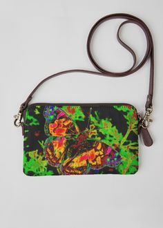 VIDA Leather Statement Clutch - Tiled leather bag by VIDA XU3XEt