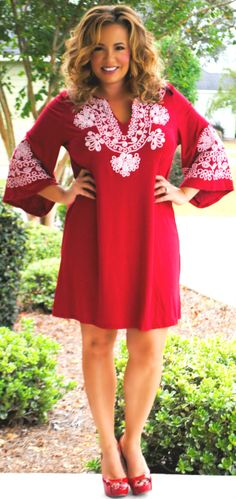 Perfectly Priscilla Boutique - A Heartbeat Away Dress, $43.00 (http://www.perfectlypriscilla.com/a-heartbeat-away-dress/)