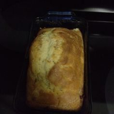 Homemade beer bread made with Bud Platinum...! Mmmm