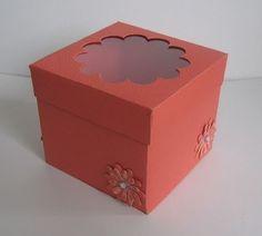 Köszönetajándék-átadó doboz