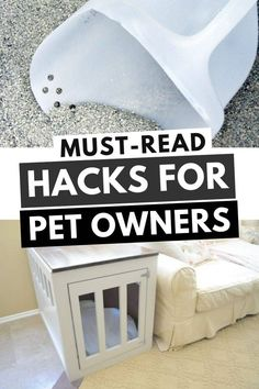 Do you have a cat? Check out these awesome pet hacks! From using baking soda to get rid of cat urine smell to litter box tips and tricks! Easy Pets, Pet Hair Removal, Diy Dog Treats, Cool Dog Beds, Diy Stuffed Animals, Hacks, Puppies, Home Decor, Cubs