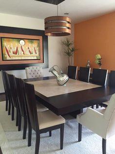 Comedor : Comedores de estilo moderno por Helio interiores Tehuacan