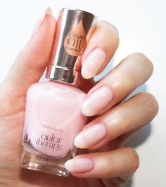 Rosy Quartz – Sofia is My Home Sheer Nail Polish, Red Nail Polish, Pink Nails, Natural Nail Polish, Sally Hansen Color Therapy, Cracked Nails, Pink Nail Colors, Sally Hansen Nails, Classic Nails