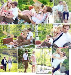 Couples Photoshoot Picnic by keren.chadwick...well now David needs to purpose again so we can take engagement pictures again!