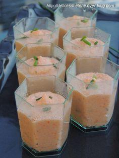 Une petite idée ultra simple pour un apéritif qui change! Servez-les en mini verrines, c'est plus sympa, accompagnées d'autres petites choses à grignoter... Pour une quinzaine de mini verrines 15g de beurre 200g de surimi (ou râpé de la mer) 2 cuil. à...