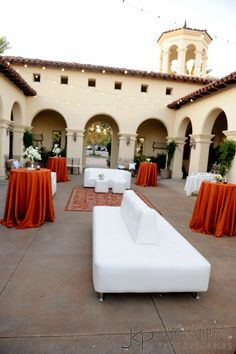 Awesome lounge setup at Talega Golf Club