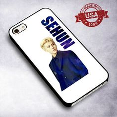 Awesome Exo K Sehun - For iPhone 4/ 4S/ 5/ 5S/ 5SE/ 5C/ 6/ 6S/ 6 PLUS/ 6S PLUS/ 7/ 7 PLUS Case And Samsung Galaxy Case