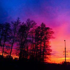 #sunset #lifeisbeautiful #podlasie #ilovepodlaskie #poland #view #weekend by isabella_bl_