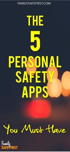 These Apps will save lives.