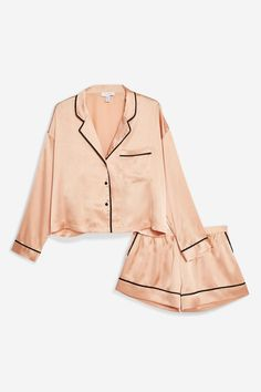 The 42 Things You Have to Buy From Topshop Shopbop and Net-a-Porter Right Now - Pajama Sets - Ideas of Pajama Sets - Topshop Pink Satin Pajama Set Cute Pajama Sets, Cute Pajamas, Satin Pyjama Set, Satin Pajamas, Pyjamas, Pajama Outfits, Cute Outfits, Pajamas For Teens, Cute Sleepwear