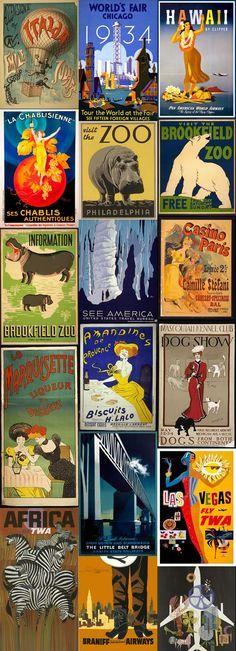 Images Vintage, Vintage Wall Art, Vintage Decor, Vintage Art Prints, Bedroom Vintage, Vintage Travel Decor, Vintage Graphic, Vintage Ideas, Vintage Stuff