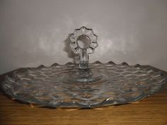 Fostoria American Handled Tray by Glassets on Etsy, $23.00