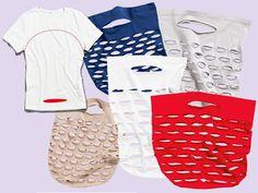 Aus Alt mach Neu: Einkaufstaschen aus alten Shirts - How To - Anleitungen - burda style