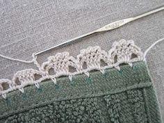 """Miss Abigail's Hope Chest: """"Garden Series"""" Free Crochet Edgings pattern, Thanks…"""