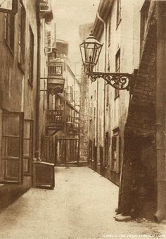 """Old Town disctrict of Warsaw, Poland, Photographs published in the magazine """"Światowid"""", [source]. Beautiful Dark Skinned Women, Warsaw Poland, Old City, Beautiful Buildings, Eastern Europe, Old Town, Old Photos, Catholic, City Photo"""
