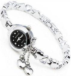 Free shipping KiMIO quartz table fashion watches Heart-shaped bracelet watch female watch popular