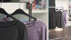 """Anlässlich der VOX Show """"Geschickt eingefädelt"""" gibt es hier ein kostenloses Schnittmuster und ei Video-Tutorial für ein Raglan Shirt für Herren"""