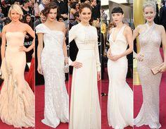 Looks clarinhos no Oscar 2012