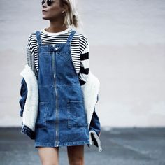 The Chicest Ways to Wear a Pinafore Dress