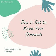 Mindful eaters are closely in tune with their hunger & fullness cues. Being  mindful of our hunger helps us know if we are eating for energy or for  other reasons like boredom or sadness. Being mindful of our fullness  helps us to not overeat. ⁣ ⁣ Your day 5 challenge is to rate your  hunger every time before and after you eat. Use a scale of 1 to 10, 1  being starving and weak, 5 being satisfied (neither hungry nor full),  and 10 feeling stuffed to the point of feeling sick.