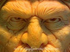 Halloween Pumpkin Carving Faces | Festive- Halloween 3D Pumpkin Carvings